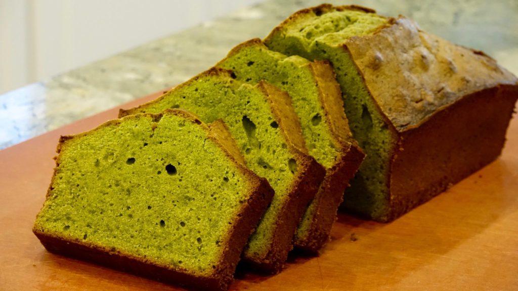 matcha-pound-cake